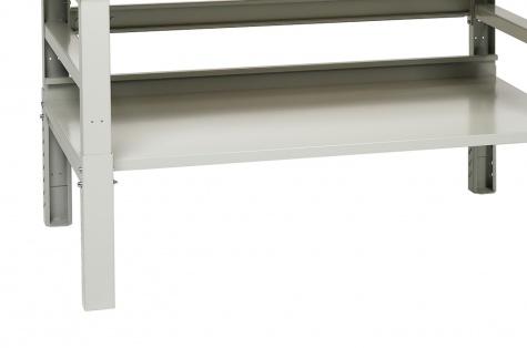 Alumine riiul Workshop töölauale, 1000 mm