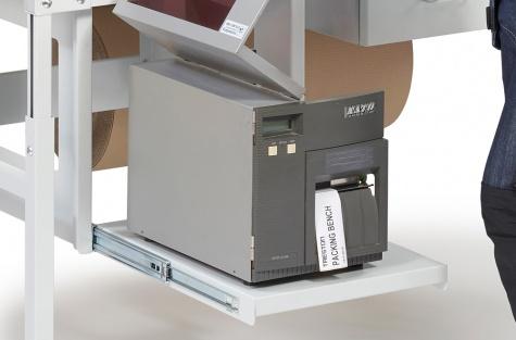 Väljatõmmatav printeririiul