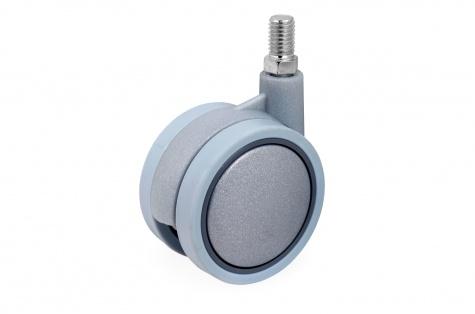 S34 мебельное колесо, диаметр  60 мм, крепление винт