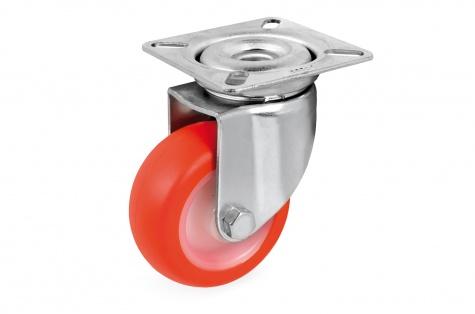S36 Plaatkinnitusega pöörduv ratas, Ø 40x18 mm