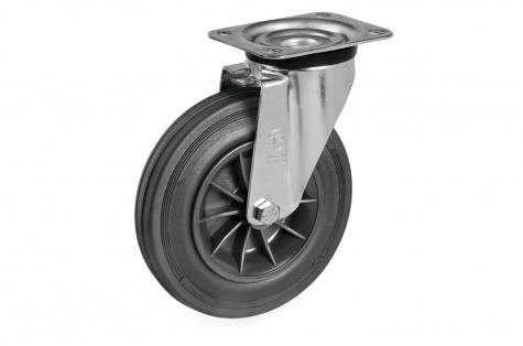 S52 Plaatkinnitusega, pöörduv ratas, Ø 100 x 30 mm