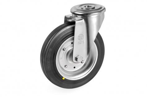 S53 Grozāms ritenis ar skrūves stiprinājumu,  80 x 25 mm