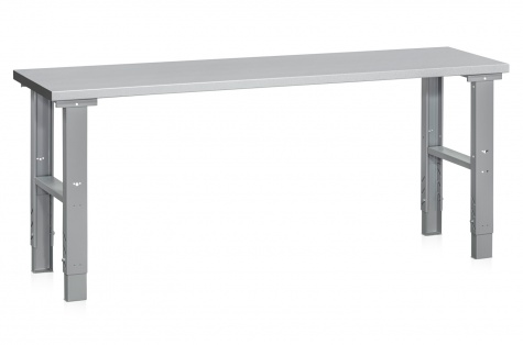 Töölaud HD 500, 2000 x 600 mm, teras