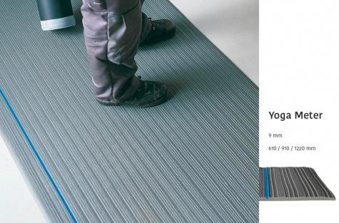 Töökoha pehmendusmatt Yoga Meter, 1220 mm