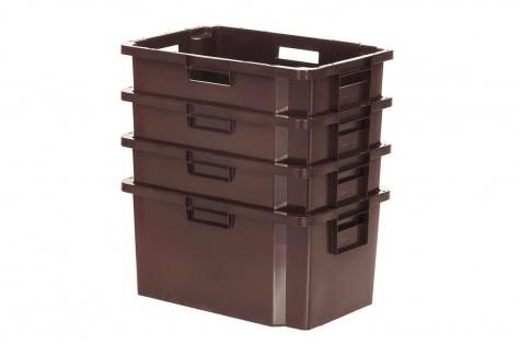 Transportēšanas un uzglabāšanas kaste, 52 L, brūna