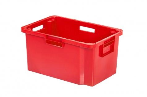 Transportēšanas un uzglabāšanas kaste, 52 L, sarkana