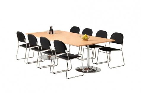 Konferenču galds, 2400 x 1200 mm, buka