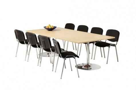 Konferenču galds, 2400 x 1200 mm, bērza