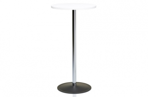 Bāra galds Lena, augsts, balts