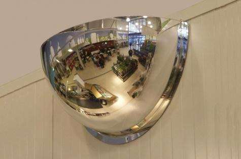 Сферическое зеркало, 180°, диаметр 800 мм