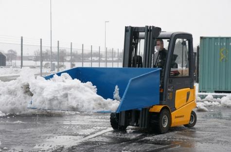 Ковш для уборки песка и снега, 1000 л