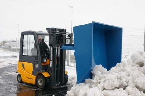 Ковш для уборки песка и снега, 1500 л