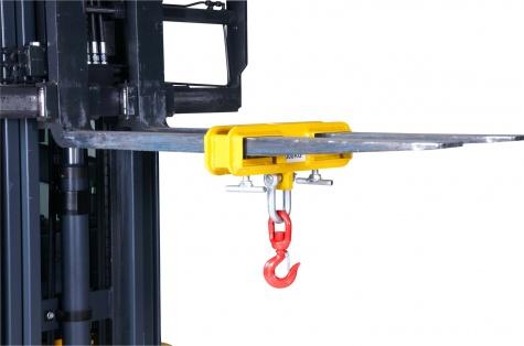 Adapteris dakšu pacēlājam darbam ar krānu MK10