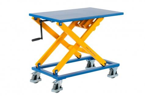 Mehāniski paceļamais galds PL LBM, celtspēja 300 kg