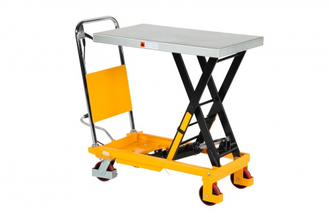 Paceļamais galds ar pedāli SP300, celtspēja 300 kg