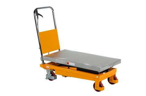Paceļamais galds ar pedāli PL350LBD, dubultšķērveidīgs, celtspēja 350 kg