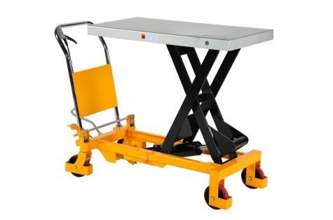 Paceļamais galds ar kāju nospiežamu slēdzi, celtspēja 1000 kg