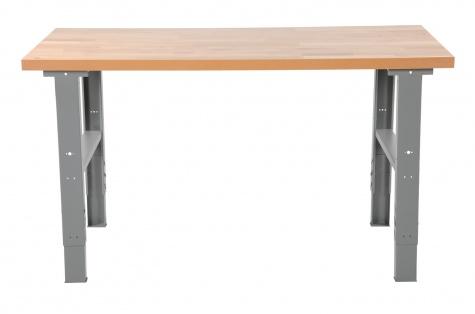 Darbnīcas galds Extra Strong, 1600 x 800 mm, ozols